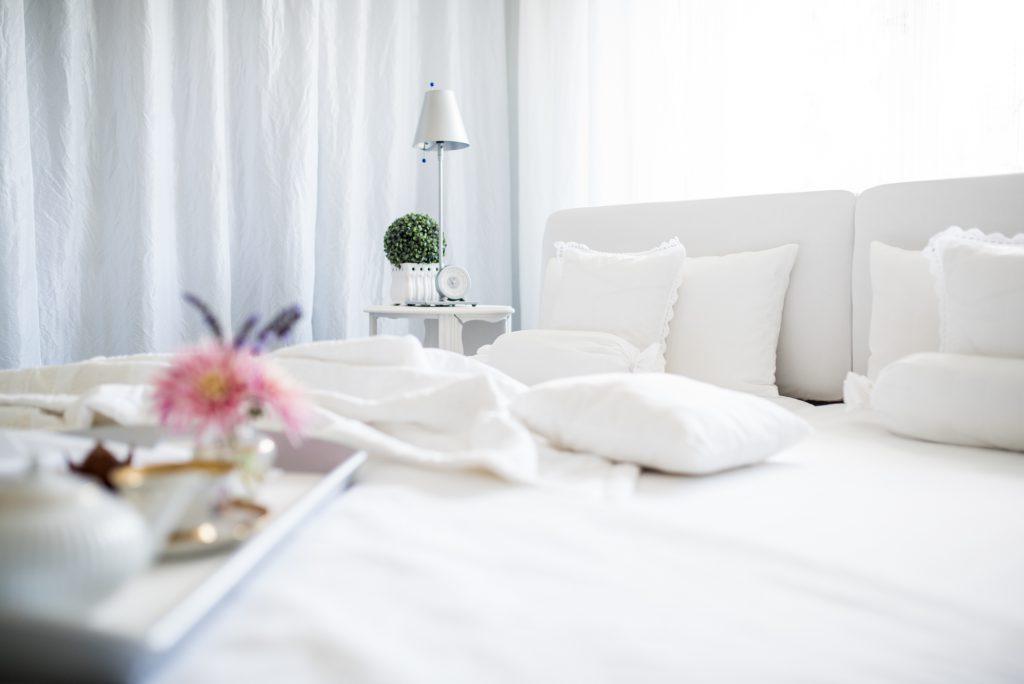 weisses Schlafzimmer Fertig weiß dominiert