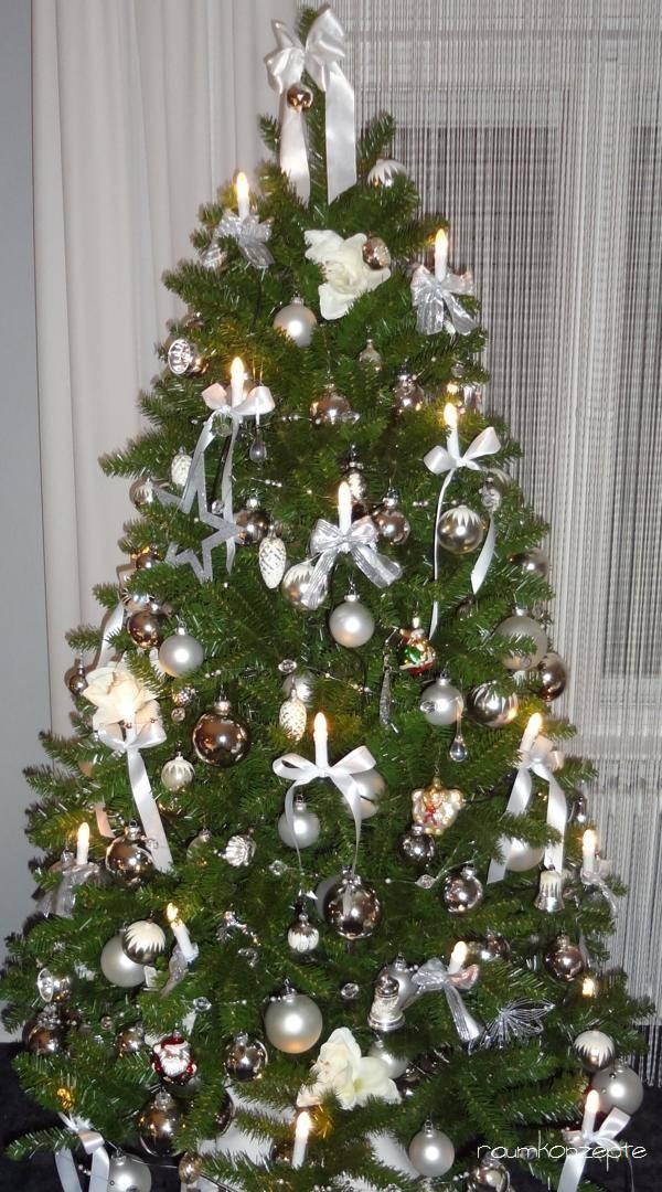 Schleifen Weihnachtsbaum.Ein Wandelbarer Weihnachtsbaum Raumkonzepte