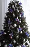 Weihnachtsbaum-lila-Baender-B1721-07